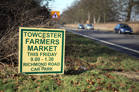 Towcester Farmer's Market every Second Friday