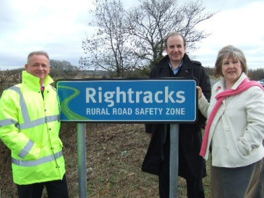 Right tracks in South Northants